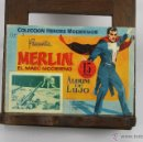 Cómics: D-348. COLECCION HEROES MODERNOS. MERLIN EL MAGO MODERNO. ALBUM DE LUJO. 1958. . Lote 42767192