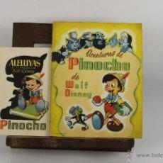 Comics - D-349. AVENTURAS DE PINOCHO Y ALELUYAS DE LA PELICULA. WALT DISNEY. EDIT. TRIUNFO. S/F. - 42768327