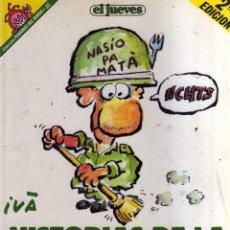 Cómics: HISTORIAS DE LA PUTA MILI Nº 33 EL JUEVES - CJ78. Lote 42768713