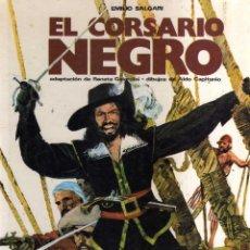 Cómics: EL CORSARIO NEGRO - EMILIO SALGARI - CJ86. Lote 42786205