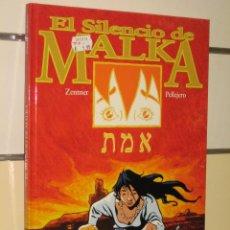 Cómics: EL SILENCIO DE MALKA GLENAT OFERTA. Lote 277142243