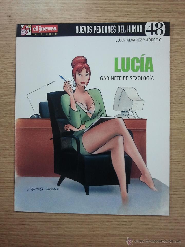 LUCIA GABINETE DE SEXOLOGIA (NUEVOS PENDONES DEL HUMOR #48) (EL JUEVES) (Tebeos y Comics - Comics otras Editoriales Actuales)