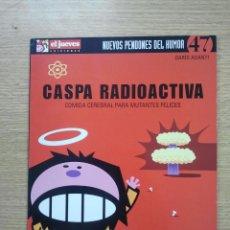 Cómics: CASPA RADIOACTIVA COMIDA CEREBRAL PARA MUTANTES FELICES (NUEVOS PENDONES DEL HUMOR #47) (EL JUEVES). Lote 42824452