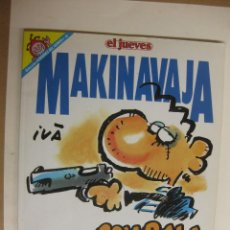 Cómics: MAKINAVAJA. COLECCION PENDONES DEL HUMOR Nº 85. EL JUEVES.. Lote 42828221