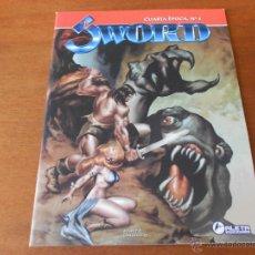 Cómics: COMIC: SWORD CUARTA ÉPOCA Nº 5, ALETA EDICIONES. Lote 152060486