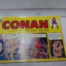 Cómics: CONAN N3 1989-APAISADO. Lote 42868399