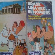 Cómics: ERASE UNA VEZ EL HOMBRE EDITA EGC AÑO 1979. Lote 42883278