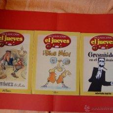 Cómics: LOTE 3 COMICS. CLÁSICOS EL JUEVES. NºS. 1, 2 Y 3. (EL JUEVES, 2006) ¡COLECCIONISTA!. Lote 42895514