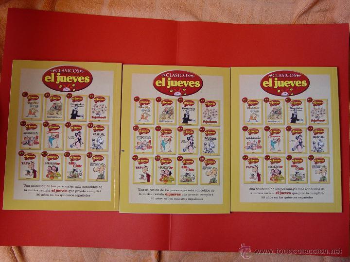 Cómics: LOTE 3 COMICS. CLÁSICOS EL JUEVES. NºS. 1, 2 y 3. (EL JUEVES, 2006) ¡COLECCIONISTA! - Foto 2 - 42895514