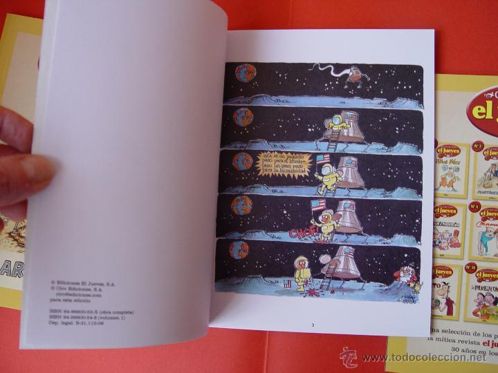 Cómics: LOTE 3 COMICS. CLÁSICOS EL JUEVES. NºS. 1, 2 y 3. (EL JUEVES, 2006) ¡COLECCIONISTA! - Foto 3 - 42895514