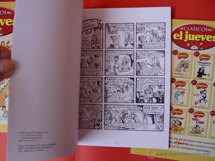 Cómics: LOTE 3 COMICS. CLÁSICOS EL JUEVES. NºS. 1, 2 y 3. (EL JUEVES, 2006) ¡COLECCIONISTA! - Foto 4 - 42895514