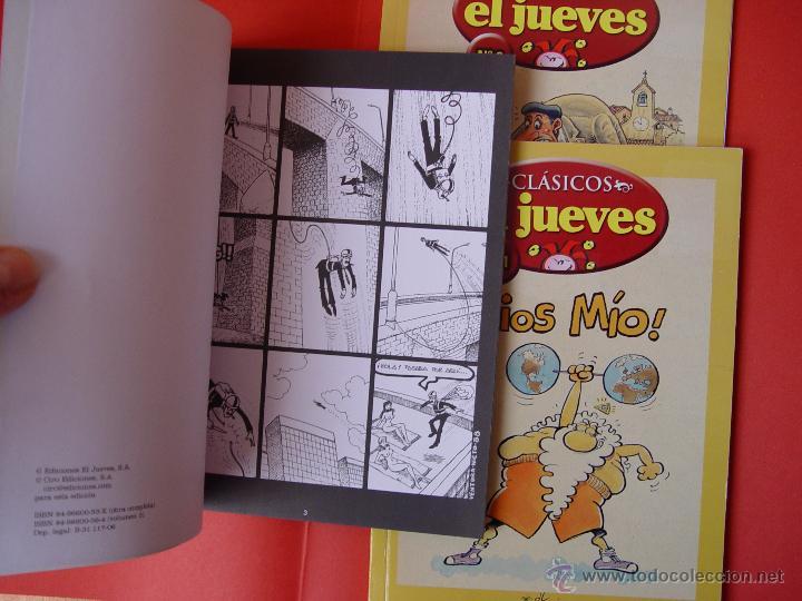 Cómics: LOTE 3 COMICS. CLÁSICOS EL JUEVES. NºS. 1, 2 y 3. (EL JUEVES, 2006) ¡COLECCIONISTA! - Foto 5 - 42895514