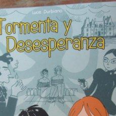 Cómics: TORMENTA Y DESESPERANZA DE LUCIE DURBIANO (PONENT MON). Lote 42905981