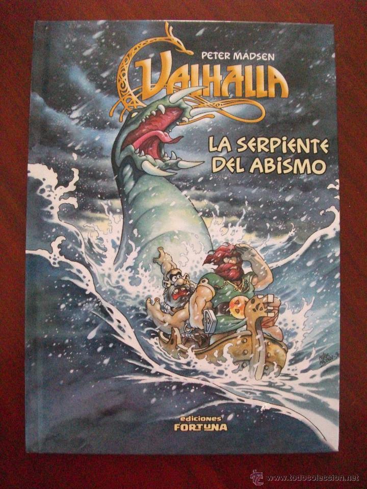 VALHALLA LA SERPIENTE DEL ABISMO EDICIONES FORTUNA (Tebeos y Comics Pendientes de Clasificar)