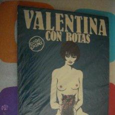 Cómics: VALENTINA CON BOTAS DE GUIDO CREPAX. Lote 42974660