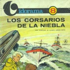 Cómics: VIDORAMA Mº8. LOS CORSARIOS DE LA NIEBLA. UNA AVENTURA DE GACETA JUNIOR TINTÍN. JAIME LIBROS, 1969. Lote 42994174