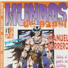 Cómics: MUNDOS DE PAPEL Nº 1.. Lote 42995272