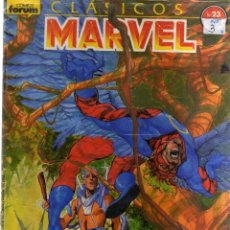 Cómics: CLASICOS MARVEL Nº 23 FORUM - CJ74. Lote 43005381