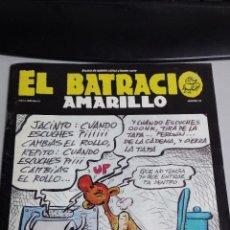 Cómics: EL BATRACIO AMARILLO Nº 58 - REVISTA DE OPINION CITRICA Y HUMOR SERIO / EDICION GRANADA. Lote 43057254
