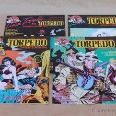 Cómics: TORPEDO - ED MAKOKI AÑO 1991 - COMPLETA - 4 EJEMPLARES - NUEVOS. Lote 43089175