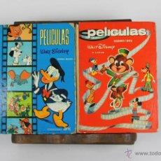 Comics - D-408. PELICULAS WALT DISNEY. COLECCION JOVIAL. EDIT. WALT DISNEY. 1968. 12 VOL - 43095697