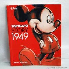 Comics - TOPOLINO STORY 1949 HISTORIA DE MICKEY MOUSE EN ITALIANO MIKI WALT DISNEY MIKY - 43103451