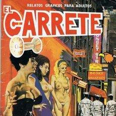 Cómics: COMIC EL CARRETE N.3 RELATOS GRÁFICOS PARA ADULTOS. Lote 43113450