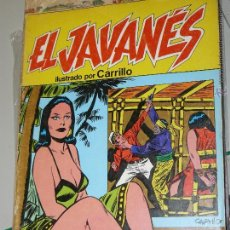 Cómics: TEBEOS-COMICS CANDY - EL JAVANES - 1981 - PRODUCCIONES EDITORIALES - Nº 6 - CARRILLO *AA99. Lote 43114376