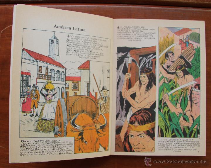 Cómics: LA GRAN AVENTURA DE LA HISTORIA - EN COMICS – LOTE DE 8 NUMEROS - Foto 2 - 43137483