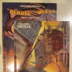 Cómics: EL BURDEL DE LAS MUSAS 1 Y 2. Lote 43283691