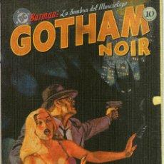 Cómics: BATMAN: LA SOMBRA DEL MURCIÉLAGO, GOTHAM NOIR - CJ117. Lote 43328470