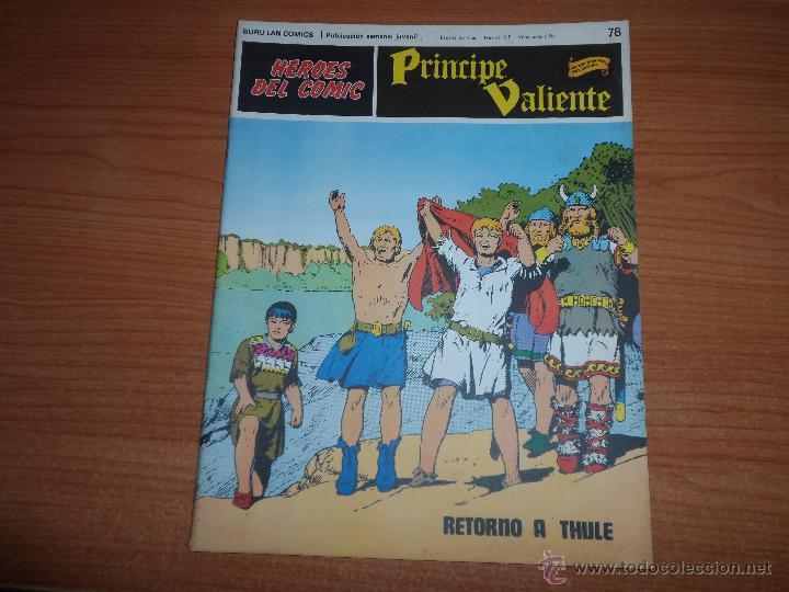 PRINCIPE VALIENTE Nº 78 EDITORIAL BURULAN BURU LAN 1972 (Tebeos y Comics - Buru-Lan - Principe Valiente)