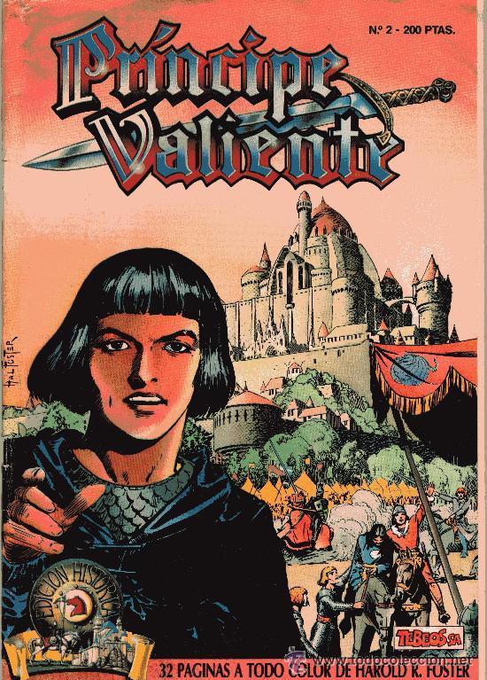 PRÍNCIPE VALIENTE (Tebeos y Comics - Buru-Lan - Principe Valiente)