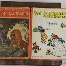 Cómics: 4676- COLECCION DE 7 CUENTOS INFANTILES. EDIT. SOPENA Y SINOPLE. AÑOS 30/60. . Lote 43523983