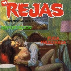Cómics: COMIC REJAS N. 59 RELATOS GRAFICOS PARA ADULTOS . Lote 43530832