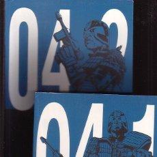 Cómics: JUEZ DREDD, LOS ARCHIVOS COMPLETOS , TOMOS 04.1 - 04.2 - ( AÑO: 2102-2103 ) EDICIONES KRAK. Lote 43549174