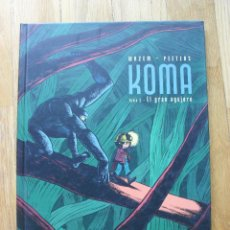 Cómics: KOMA, EL GRAN AGUJERO, TOMO 2, WAZEM PEETERS, DIB BUKS. Lote 43556525
