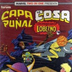 Cómics: MARVEL TWO-IN-ONE: CAPA Y PUÑAL Y LA COSA Nº 20 - CJ55. Lote 43564341