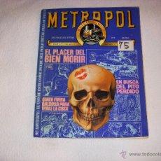 Cómics: METROPOL Nº 3, EDICIONES METROPOL. Lote 43610037