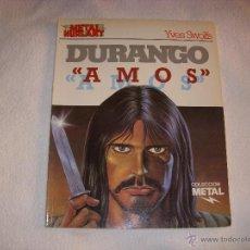 Cómics: COLECCION METAL Nº 25, DURANGO, EDITORIAL EUROCOMIC. Lote 43610083