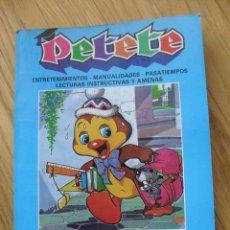 Cómics: PETETE, APRENDE JUGANDO, TOMO CON LOS NUMEROS, 44.45.46.47.48,.50 51,17. Lote 43623275