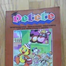 Cómics: PETETE, APRENDE JUGANDO, TOMO CON LOS NUMEROS, 1.2..3.4.5.6.7.8. Lote 43623666