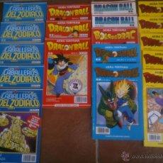 Cómics: LOTE LOS CABALLEROS DEL ZODIACO DRAGONBALL . Lote 43740629