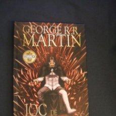 Cómics: JOC DE TRONS III - GEORGE R.R. MARTIN - GRUP EDITORIAL 62 - EN CATALÀ - . Lote 43763268