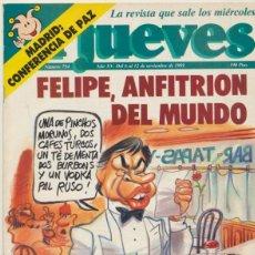 Cómics: EL JUEVES. LOTE DE 11 EJEMPLARES:744,745,751,754,787,788,789,793,795,796,799,. Lote 43814826