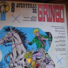 Cómics: 8 AVENTURAS DE GRINGO - CARLOS GIMENEZ. Lote 43832170