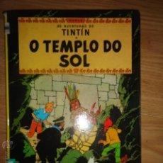 Cómics: TINTIN EN O TEMPLO DO SOL EN GALEGO GALLEGO HERGE PRIMERA EDICION EDITORIAL JUVENTUD IDIOMAS. Lote 151459705
