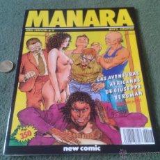 Cómics: COMIC MILO MANARA N º 17 PARA ADULTOS NEW COMIC LAS AVENTURAS AFRICANAS DE GIUSEPPE BERGMAN 2ª PARTE. Lote 43950864