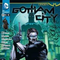 Cómics: BATMAN: GOTHAM CITY - ORIGEN - ECC EDICIONES - DESCUENTO 15%¡¡¡. Lote 124186735