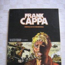 Comics: FRANK CAPPA MEMORIAS DE UN CORRESPONSAL - MANFRED SOMMER - FIRMADO Y CON DEDICATORIA. Lote 44058284